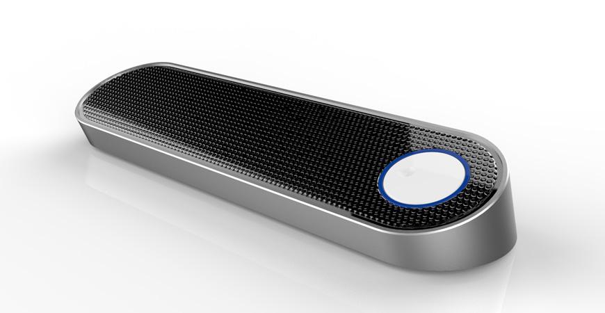 蓝牙音箱设计_产品外观设计
